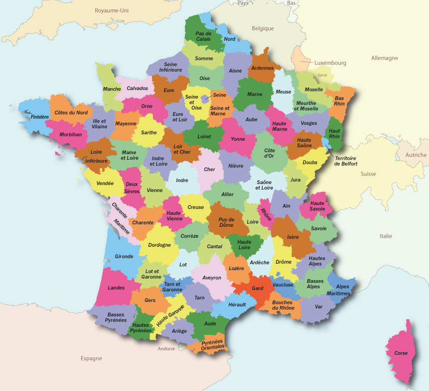 Carte De France Alpes Maritime | tonaartsenfotografie
